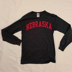 Nebraska long sleeve tee!
